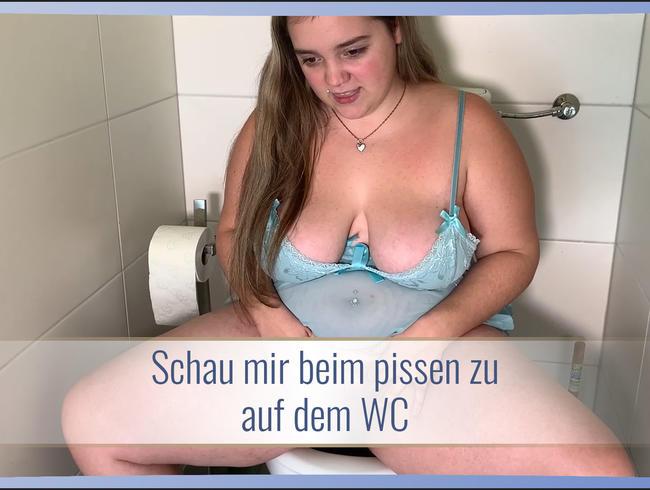 Video Thumbnail Schau mir beim pissen zu auf dem WC