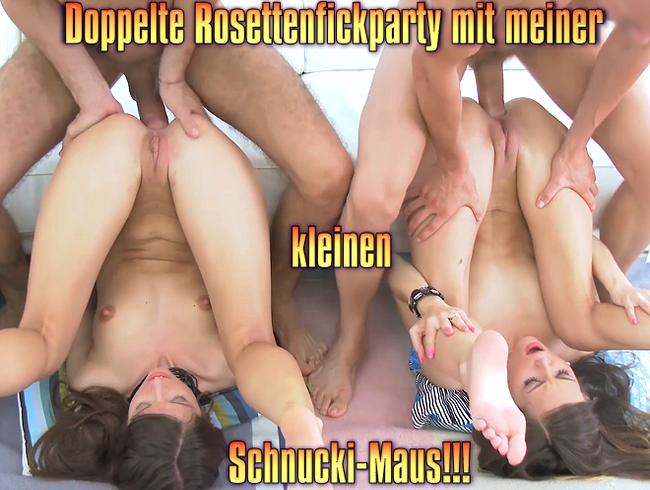 Video Thumbnail Doppelte Rosettenfickparty mit meiner kleinen Schnucki-Maus!!!