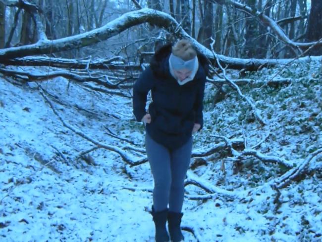 Video Thumbnail Lachkrampf beim Befeuchten des Waldbodens