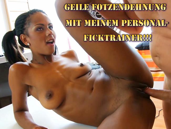 Video Thumbnail Geile Fotzendehnung mit meinem Personal-Ficktrainer!!!