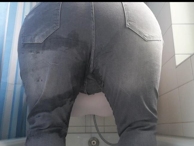 Video Thumbnail In Jeans gepieselt