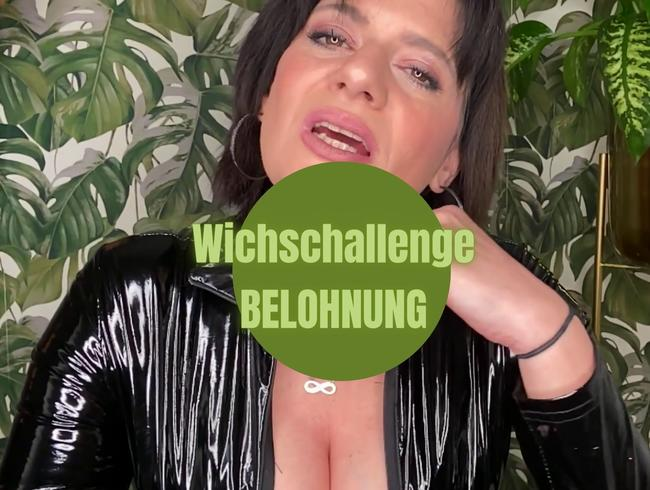 Video Thumbnail Wichs-Challenge – Belohnungsvideo