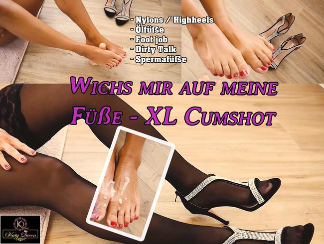 Video Thumbnail Wichs mir auf meine Füße - XL Cumshot