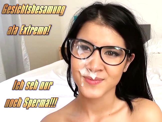 Video Thumbnail Gesichtsbesamung ala Extremo! Ich seh nur noch Sperma!!!