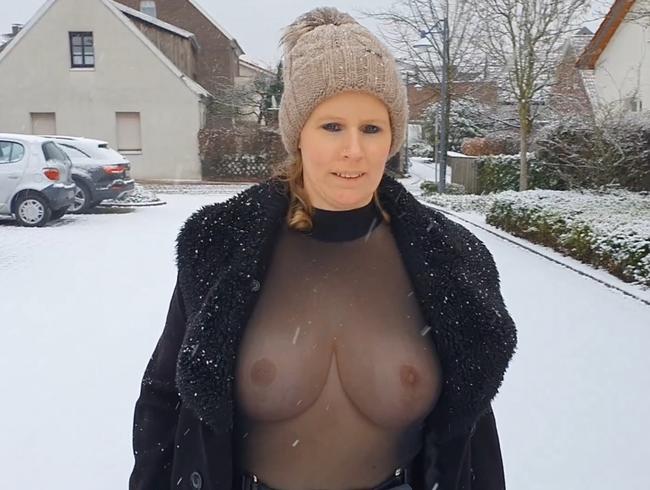 Video Thumbnail Meine neuen Hupen zum ersten mal im Schnee