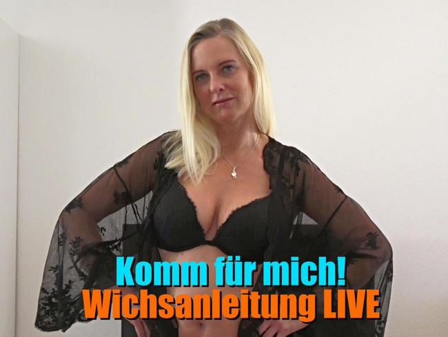 Video Thumbnail Komm für mich! Wichsanleitung LIVE!
