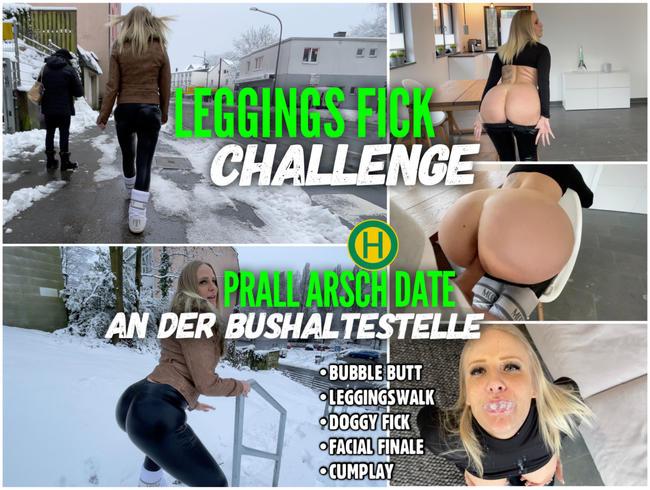 Video Thumbnail LEGGINGS FICK Challenge | Prall Arsch Date an der Bushaltestelle
