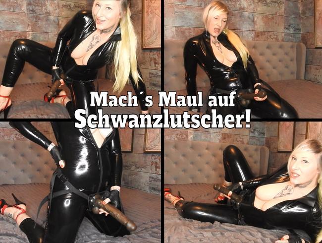 Video Thumbnail Mach´s Maul auf, Schwanzlutscher! (de)