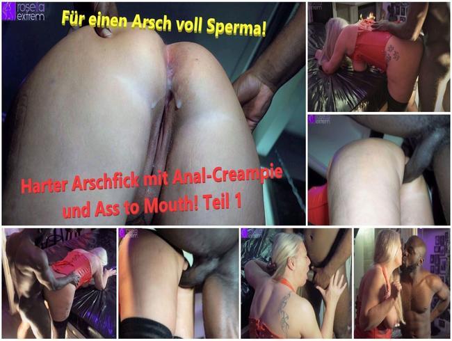 Video Thumbnail Für einen Arsch voll Sperma! Harter Arschfick mit Anal-Creampie und Ass to Mouth! Teil 1