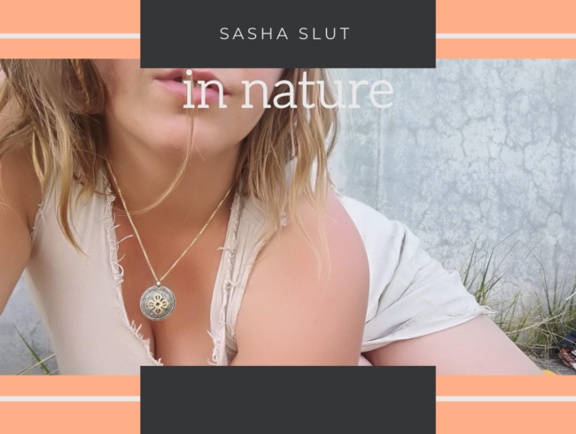 Video Thumbnail Sasha Slut in nature