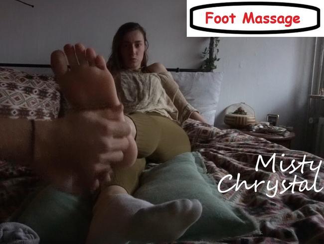Video Thumbnail Misty - White Ankle Socks & Barefoot Massage