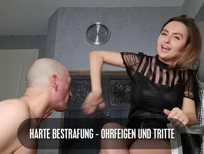 Video Thumbnail Harte Bestrafung - Ohrfeigen und Tritte
