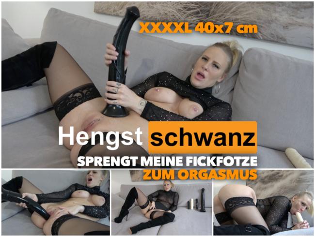 Video Thumbnail XXXXL HENGST SCHWANZ sprengt meine Fotze zum Orgasmus