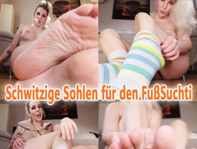 Video Thumbnail Schwitzige SOHLEN für den FUßSuchti