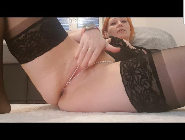 Video Thumbnail Nahaufnahme meiner kleinen pussy mit analplug