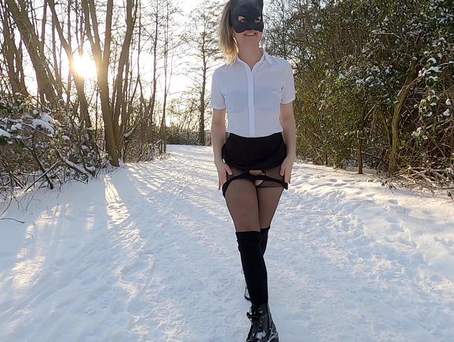 Video Thumbnail Ein geiler Schnee Piss