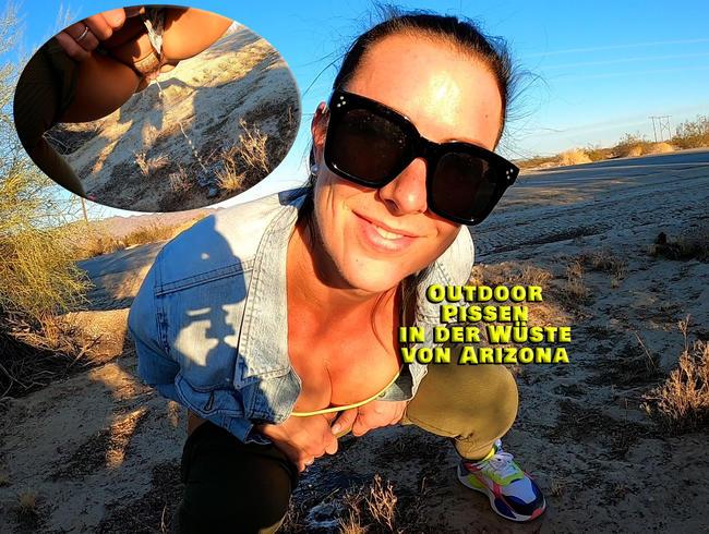 Video Thumbnail Outdoor pissen in der Wüste Arizonas