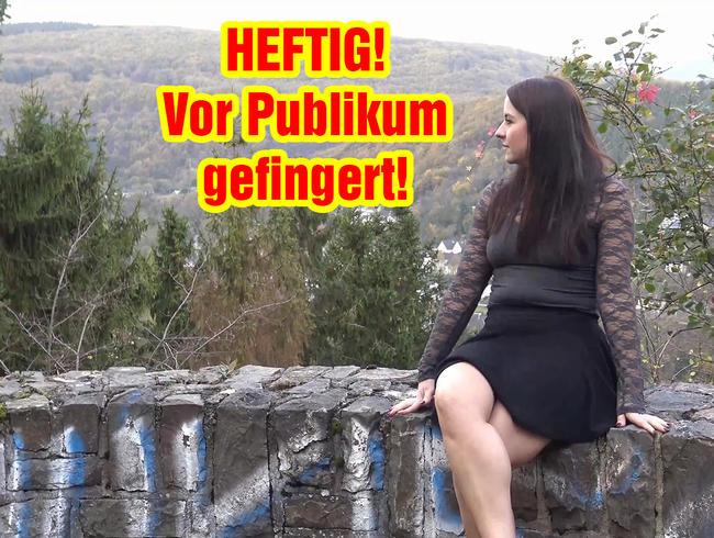 Video Thumbnail HEFTIG! Vor Publikum gefingert!