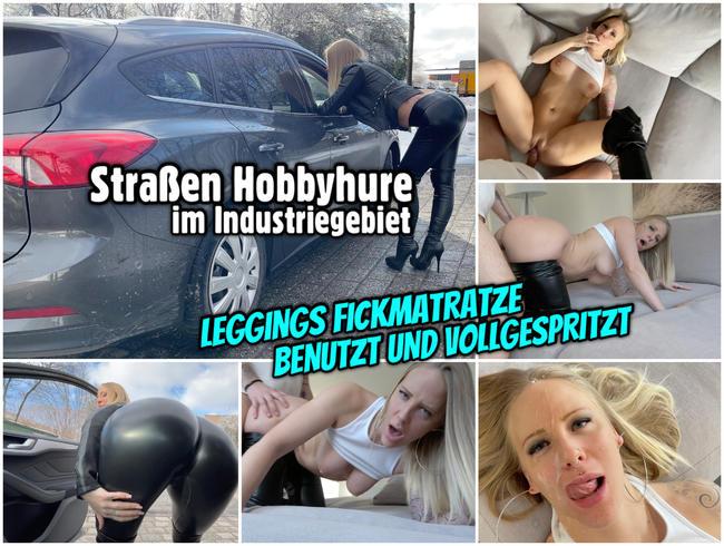 Video Thumbnail Straßen HOBBYHURE | Leggings Fickmatratze benutzt und vollgespritzt