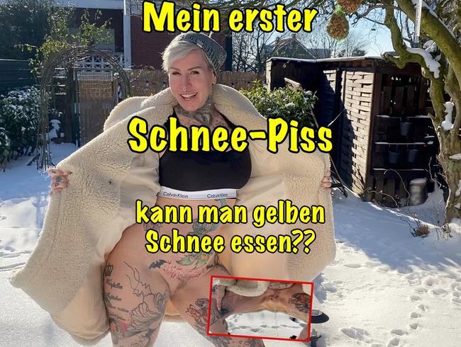 Video Thumbnail Mein erster Schnee-Piss!!Kann man gelben Schnee essen?