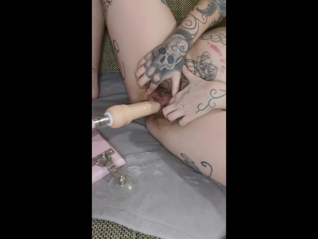 Video Thumbnail Fick Maschine creampy Orgasmus