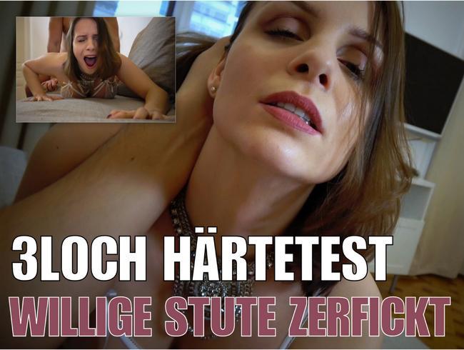 Video Thumbnail 3Loch Härtetest! Willige Stute zerfickt!