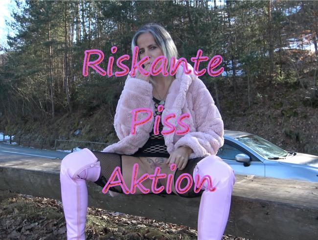 Video Thumbnail Riskante Piss Aktion