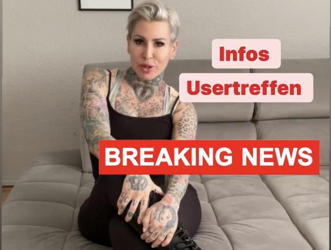 Video Thumbnail Breaking News !! Hier erfährst du wie es weitergeht