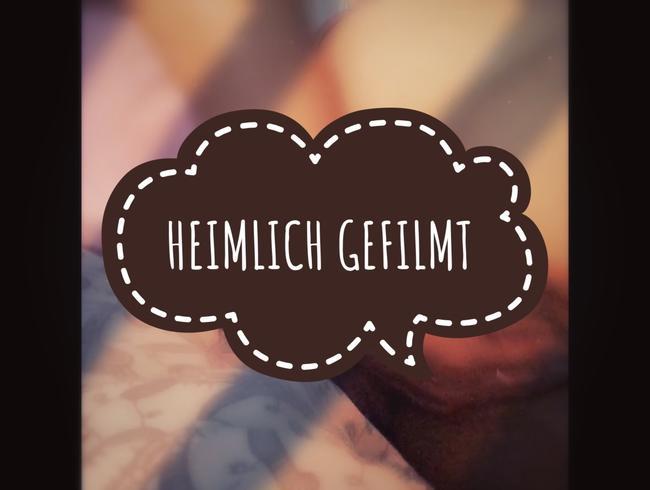 Video Thumbnail HEIMLICH GEFILMT WORDEN - KURZVIDEO