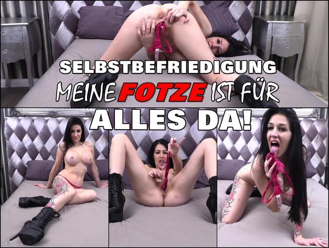 Video Thumbnail SELBSTBEFRIEDIGUNG | MEINE FOTZE IST FÜR ALLES DA!