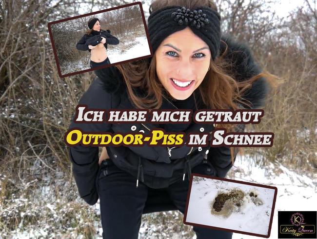 Video Thumbnail Ich hab mich getraut! Mein erster OUTDOOR - PISS im Schnee!