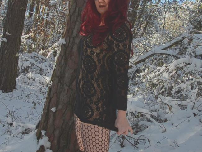 Video Thumbnail Schnee, Wald, Dildo, Spass!!!