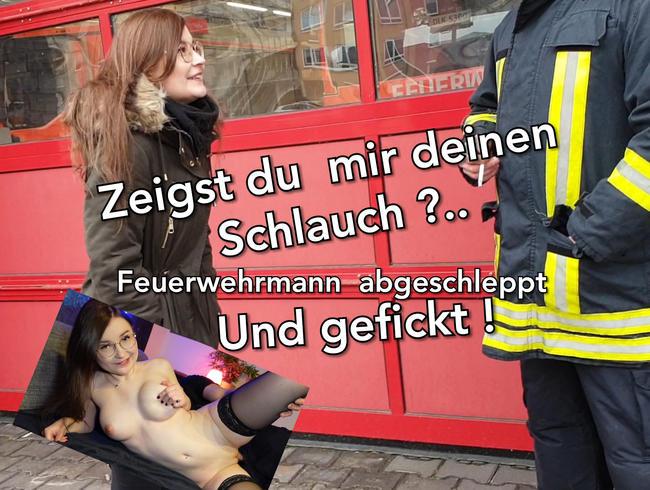 Video Thumbnail Zeigst du mir deinen Schlauch ? Feuerwehrmann Gefickt !!! Creampie ohne Gummi