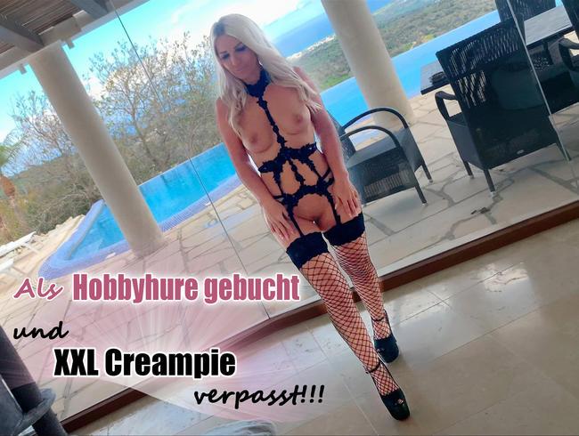 Video Thumbnail Als Hobbyhure gebucht und XXL Creampie verpasst!