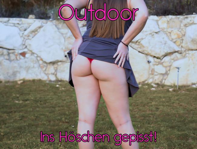 Video Thumbnail Outdoor - Ins Höschen gepisst!