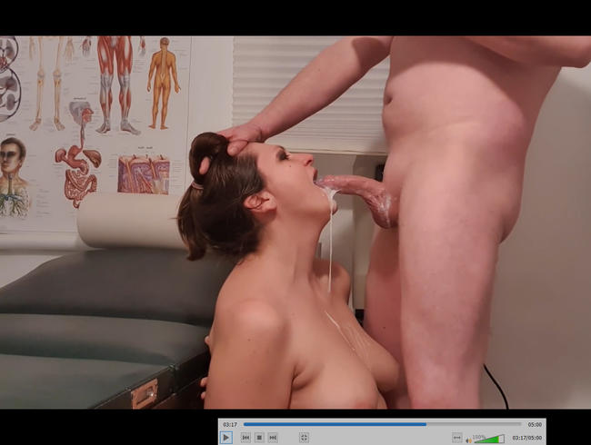 Video Thumbnail Extrem Sperma-Piss Rachenbehandlung