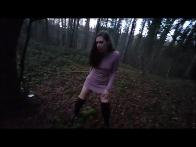 Video Thumbnail Ich pinkel auf dein Moos :-)