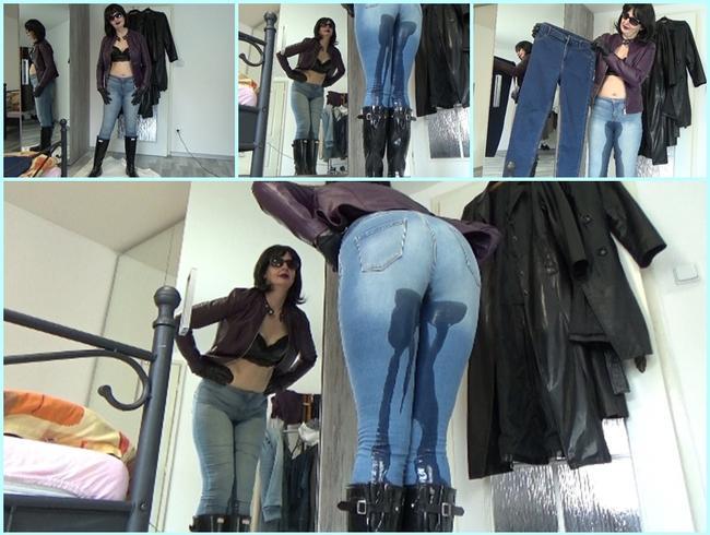 Video Thumbnail Alte Jeans verlassen neue kommen (Die letzte Pisse in meiner sexy Jeans)