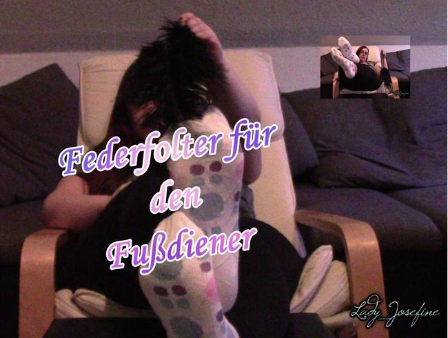Video Thumbnail Feder- für den Fußdiener