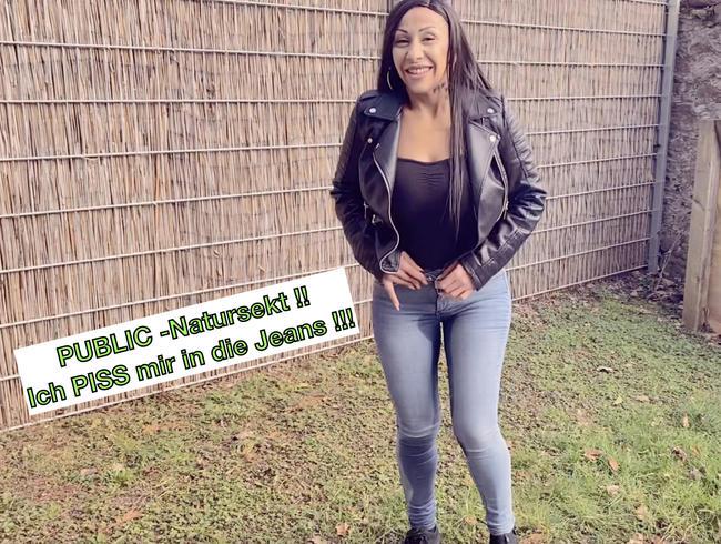 Video Thumbnail PUBLIC-Natursekt ! Ich PISS mir in die Jeans !!