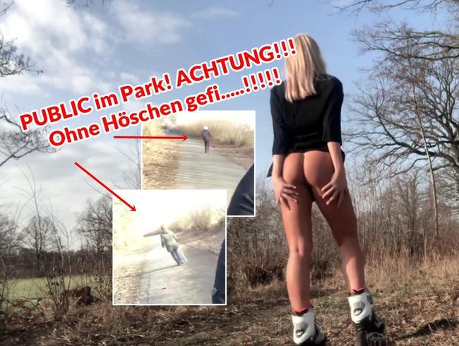 Video Thumbnail PUBLIC im Park! ACHTUNG!!! Ohne Höschen gefi.....!!!!!