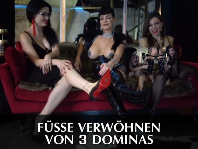 Video Thumbnail Füße verwöhnen von 3 Dominas