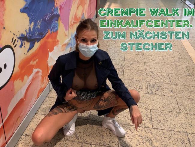 Video Thumbnail CREMPIE WALK im  Einkaufcenter! Zum nächsten Stecher
