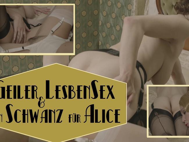Video Thumbnail Geiler Lesbensex - Ein Schwanz für Alice