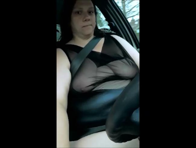 Video Thumbnail Ich fahre mit durchsichtigem Oberteil Auto