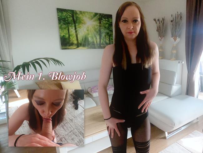 Video Thumbnail Mein 1. Blowjob!