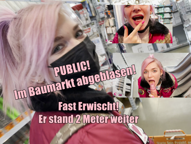 Video Thumbnail PUBLIC! Baumarkt Blowjob fast erwischt?!