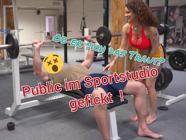 Video Thumbnail Pubilc im Sportstudio Ficken !!! Ob er sich das traut ???