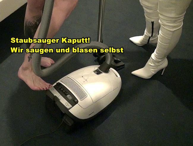 Video Thumbnail Staubsauger kaputt! Wir saugen und blasen selbst!!!