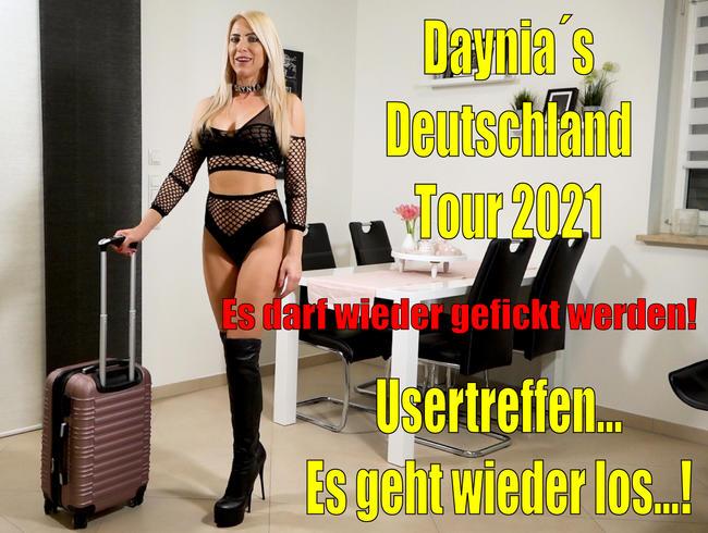 Video Thumbnail Userficktreffen - Es geht wieder los | Daynia´s Deutschland Tour 2021